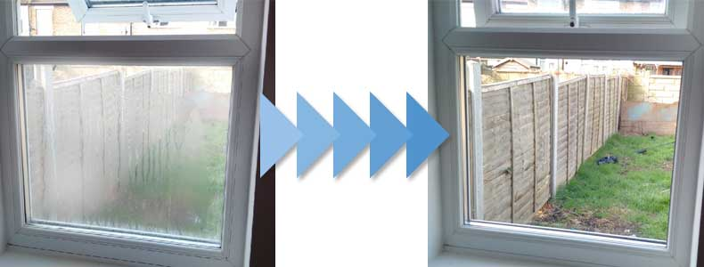 Smashed window repair