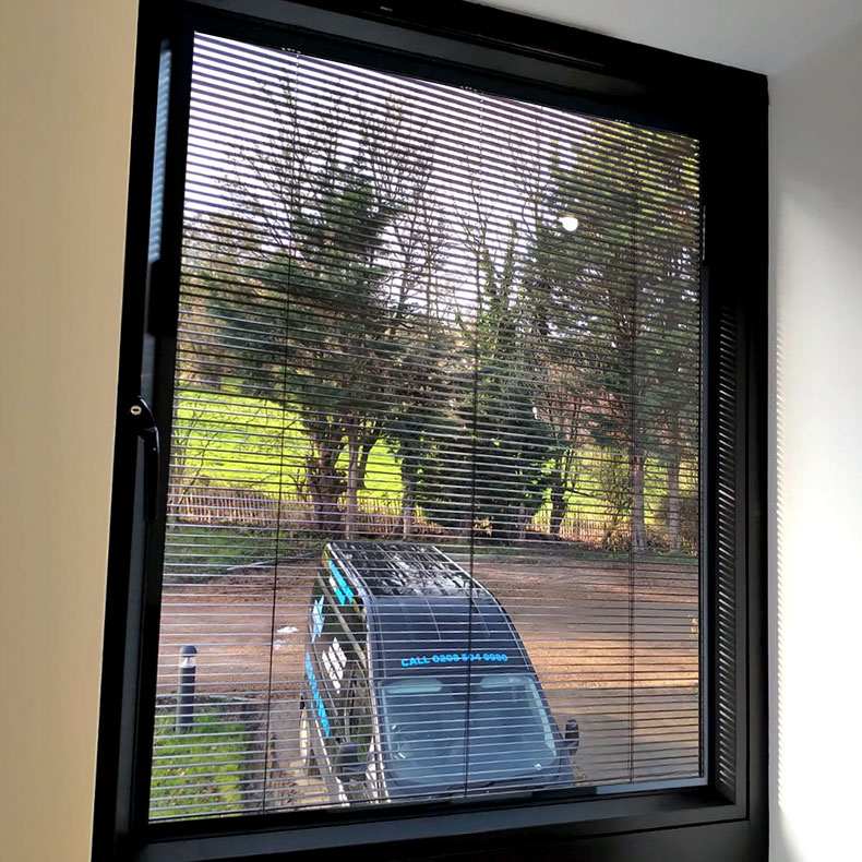 Blinds in Double Glazing - Essex - London - Hertfordshire
