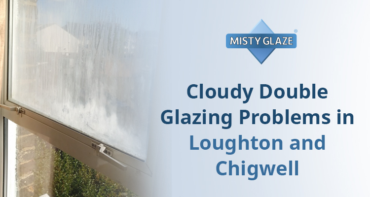 Cloudy Double Glazing Windows - Misty Glaze