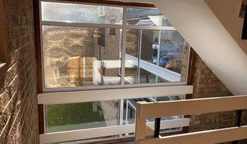 Commercial Apartment Block Glass Window Replacement - Bishop's Stortford - Misty Glaze