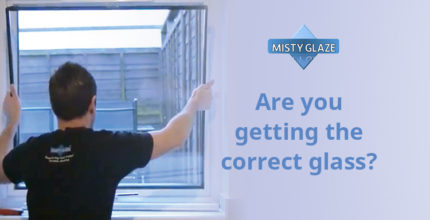 Correct Glass Specification - Safety Glass - Misty Glass