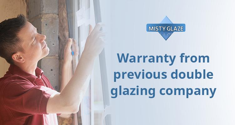 Warranty double glazing company misty glaze for Double glazing companies