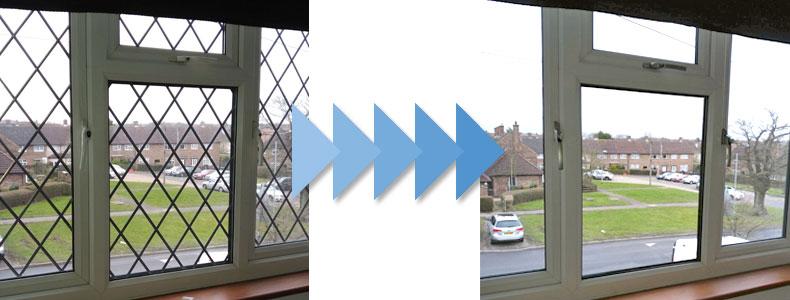 Leaded Windows Repair   Misty Glaze