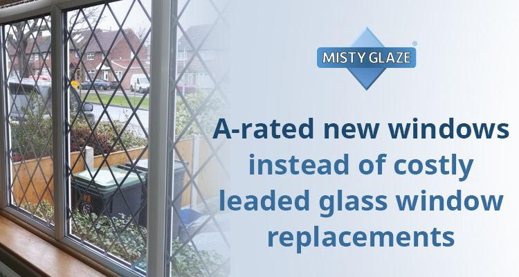 Leaded Glass Window Repair | Misty Glaze