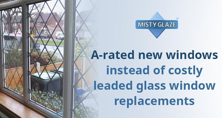 Leaded Glass Window Repair   Misty Glaze