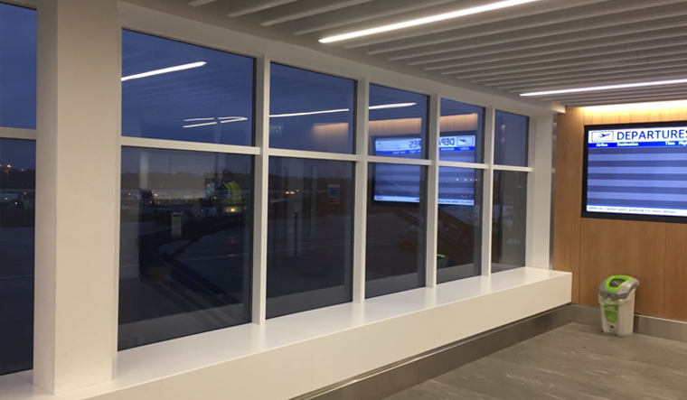 Commercial Window Repair - London City Airport - Misty Glaze