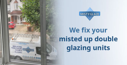 Misted Up Double Glazed Units - London - Essex - Misty Glaze