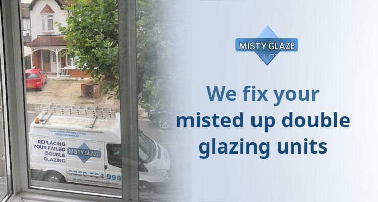 Misted Up Double Glazed Units - London - Essex - Misty Glaze