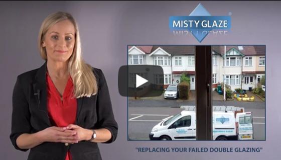 Replacing Failed Double Glazing - Video - Misty Glaze