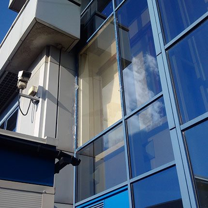 Commercial office window repairs